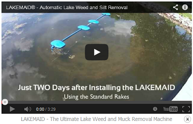 LAKEMAID - The Ultimate Lake Weed and Muck Removal Machine